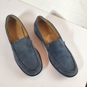 Bally Suede Slip-on Loafers
